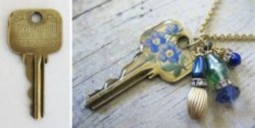 For keys you want to keep, consider adding a decal to decorative keys like this one from Just Something I Made.