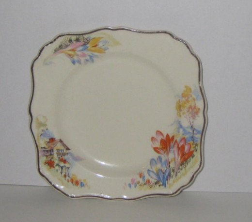 The second quiz question refers to this China pattern.