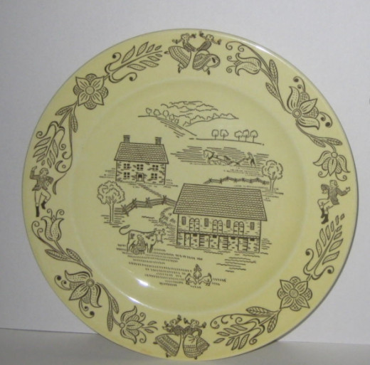 Questions No. 3 -- can you name this China pattern?
