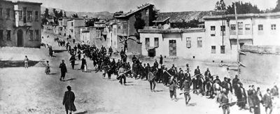 Armenian March, April 1915