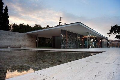 The Barcelona Pavilion, Barcelona, Spain