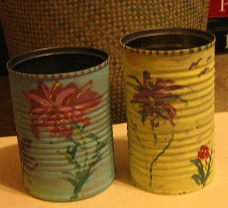 Make Recycled Tin Can Luminaries