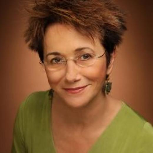 Author Elizabeth George.