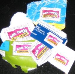 Box Tops for Education used to be called Betty Crocker Points.
