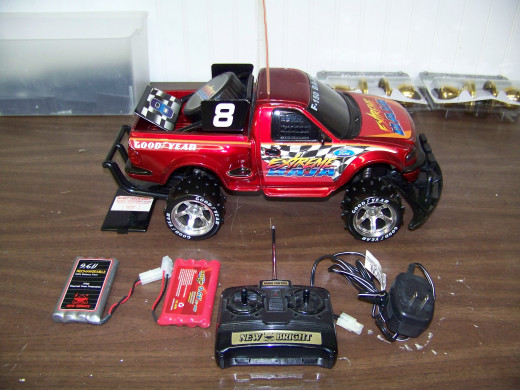 My old Ford F150 RC Truck.
