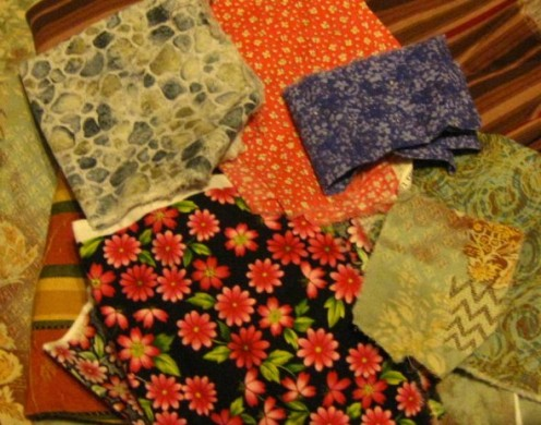 Fabric for covering everyday items.