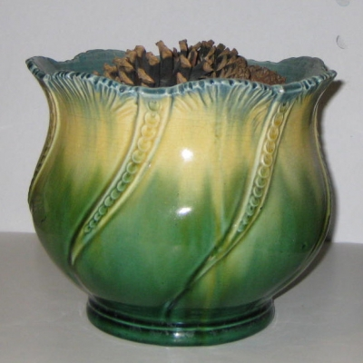 Large Majolica Planter or Jardiniere
