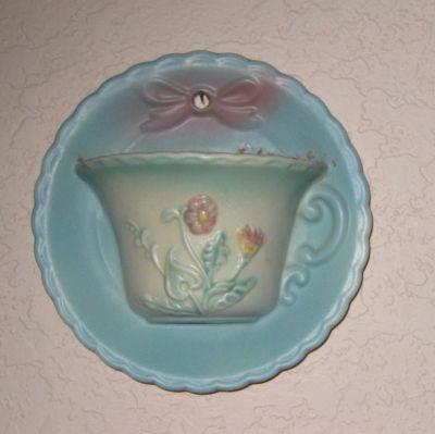 Tea Cup Wall Pocket