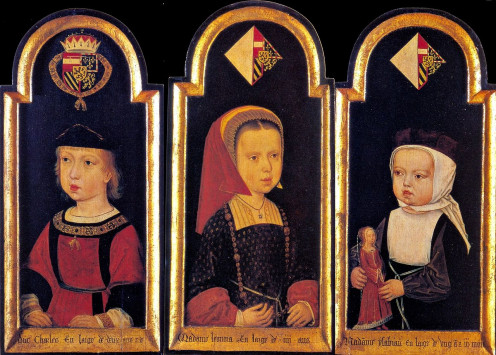 Charles, Eleanor & Isabella of Castile