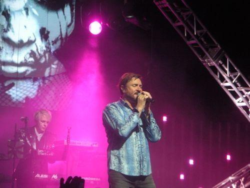 Duran Duran on stage, 2011.