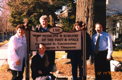 Dr. Carrozzino and staff...because podiatry IS art for the foot!