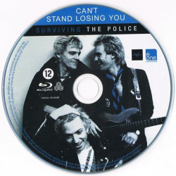 "Import BluRay disc of ""Can't Stand Losing You"". From my personal collection."