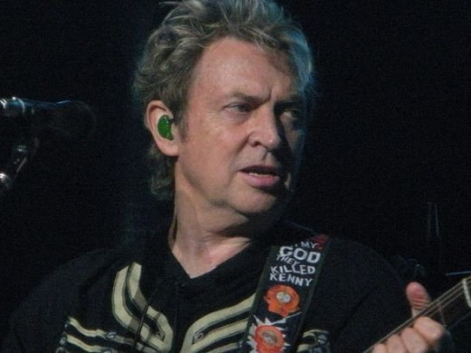 Andy Summers in concert with The Police, August 2008