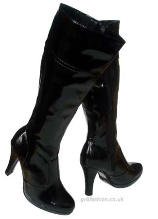 Boots of detective and celebrity biographer Cece Caruso in the Susan Kandel Mysteries.
