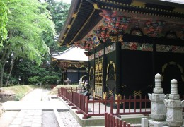 Masamune's tomb in Sendai.