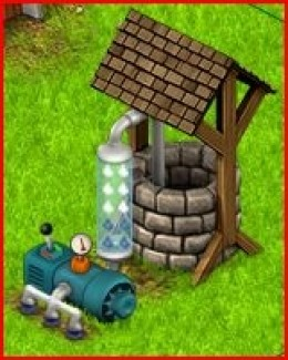 Country Life Water Well with Information