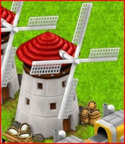 Making Flour in Country Life Facebook Game