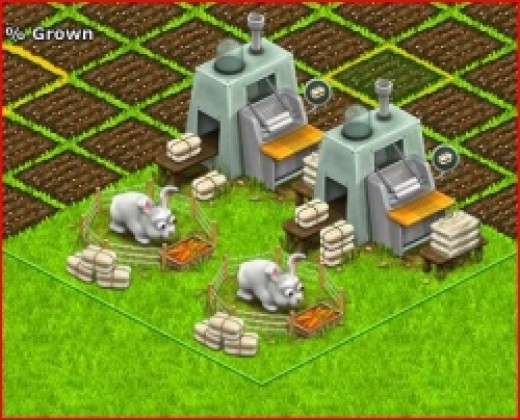 Making Angora Sweaters in Country Life Facebook Game