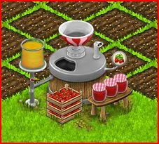 Making Jam in Country Life Facebook Game