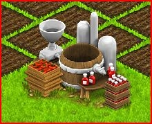 Making Ketchup in Country Life Facebook Game