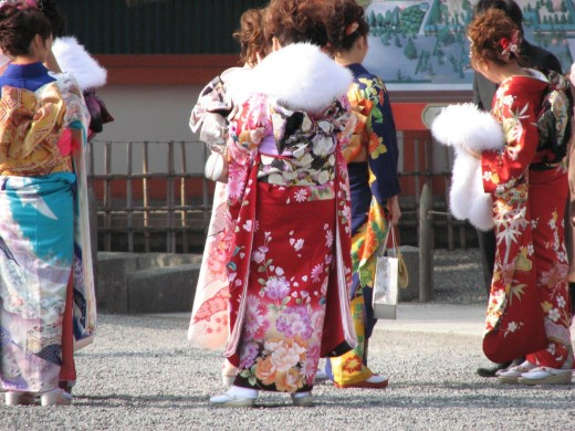 Coming of Age Day at the Heian Shrine in Kyoto - a fantastic festival to plan a trip around!