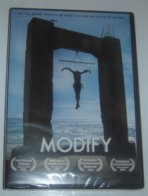 Modify. Documentary of body mods.