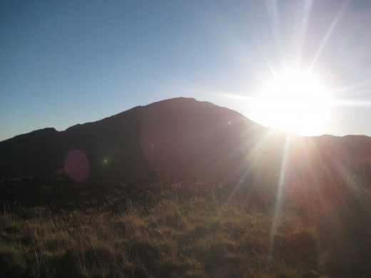 Sunrise on Haleakala.