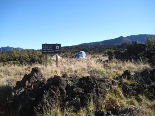 The Holua Campsite