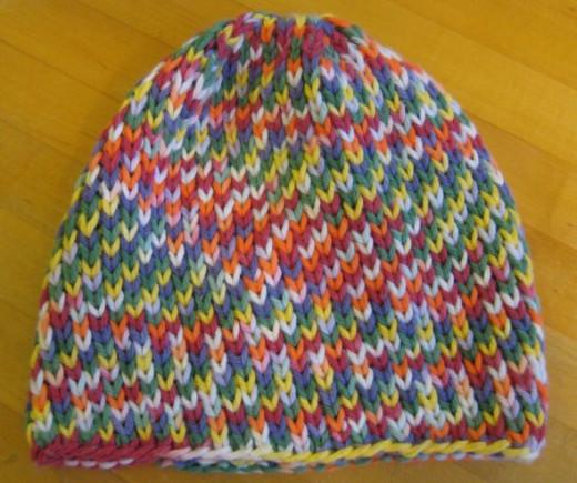 K1B Baby hat (designed by ChemKnits)