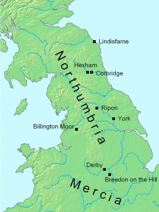 York - Jorvik - at or near the heart of a river network. The Ouse, Trent, Aire, Ure, Swale, Derwent,  Wharfe all led to inland 'burhs', towns built by or astride these rivers and provided a rich trade for Jorvik's merchants