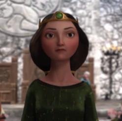 Meet Queen Elinor from Disney Pixar's Brave