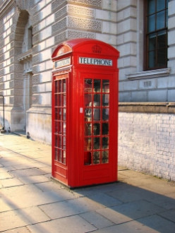 London Red Phone Box - Historic Architecture, Beloved Icon, Reclaimed Treasure