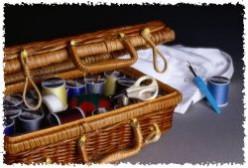 The Well-Organized Craft Closet