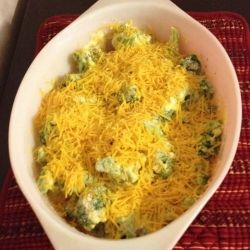 Easy Cheesy Broccoli Casserole Recipe
