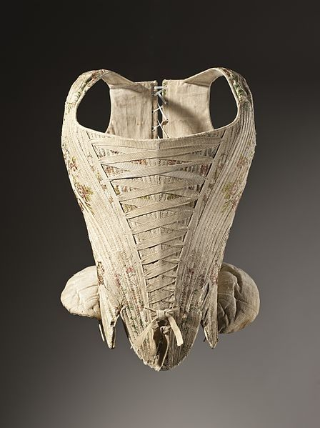 Silk Corset With Whalebone