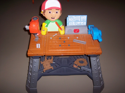 Here is our Handy Manny Repair Shop Still Going Strong after 4 years