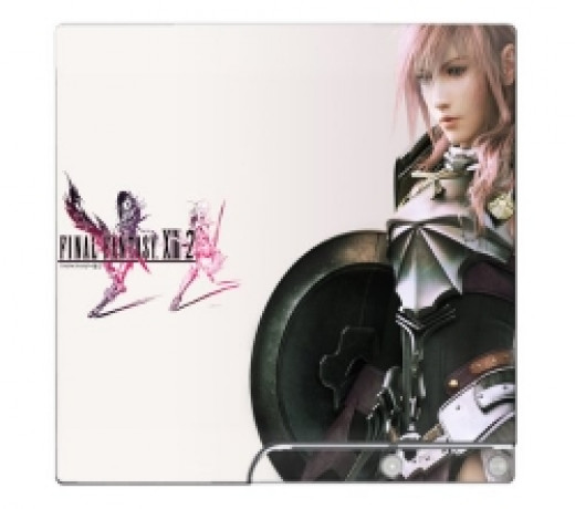 Final Fantasy XIII-2 PS3 Limited Edition Game Skin