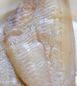 undyed smoked haddock