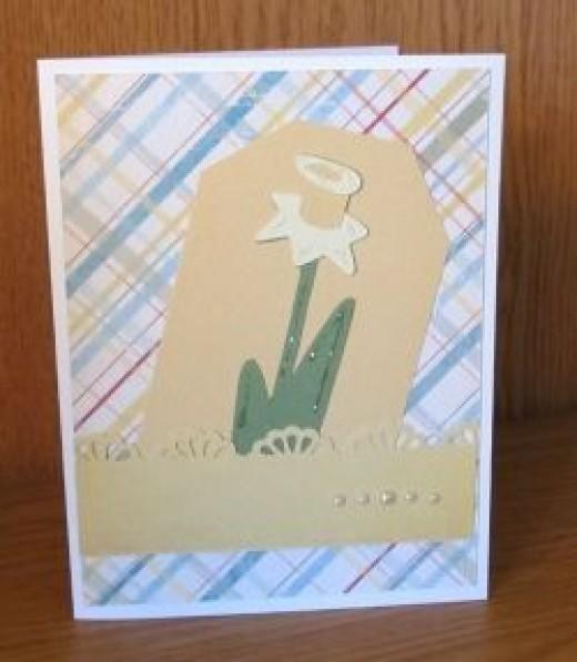 Easter Cricut Card