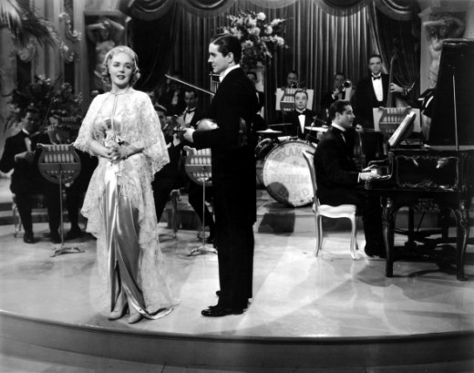 With Alice Faye in 'Alexanderâs Ragtime Band'