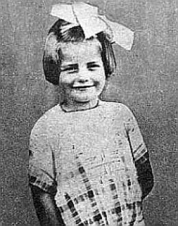 Barbara as a young girl