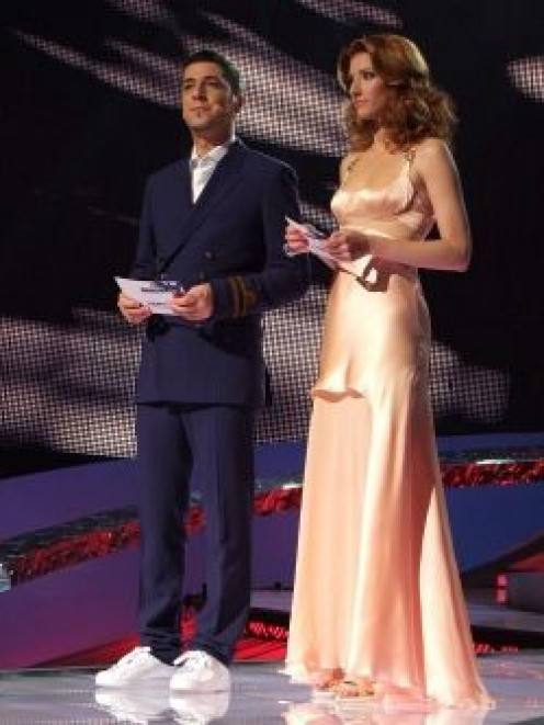 Željko Joksimović and Jovana Janković