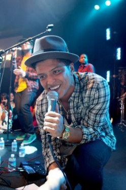 About Singer Bruno Mars