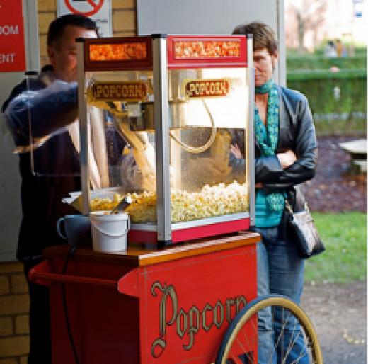 A new popcorn popper is a great gift idea.