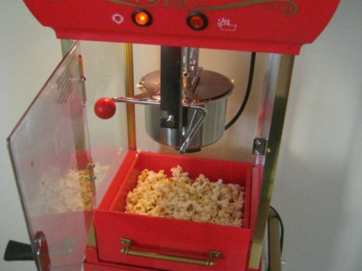 Hot, tasty popcorn!