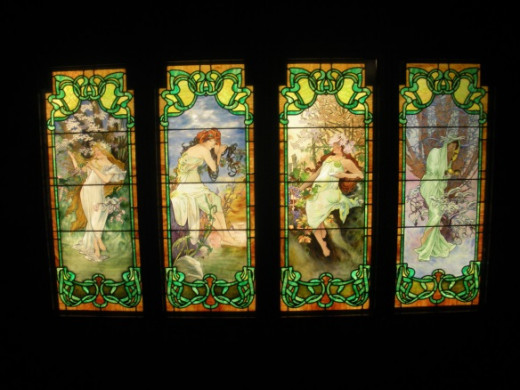 Stained Glass Museum Navy Pier Chicago