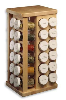 The Tubular Spice Company has some awesome spice racks