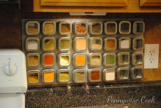 Magnetic Spice Rack from Pennywise Cook