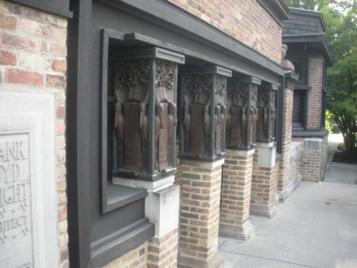 LLoyd Wright Studio Entrance