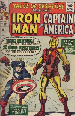 Captain America Debut Tales of Suspense 59